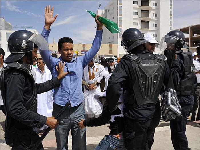 الشرطة تعتقل ناشطا شبابيا  في انواكشوط