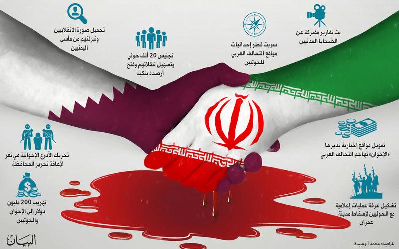 جمال الحربي: قطر توظف شخصيات لاستقطاب مسئولين لتشويه دور التحالف في اليمن