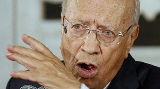 السبسي: لا وجود لأي خصومة مع رئيس الحكومة