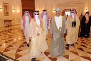 وزير الخارجية السعودي الأمير فيصل بن فرحان في مسقط