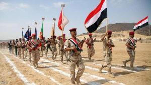 قوات الجيش الوطني اليمني في محافظة مأرب